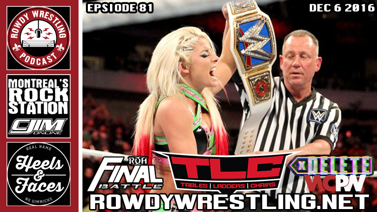 Ellsworth turns Heel, AJ retains at TLC, & Delete WCPW, ROH Final Battle Reviews!