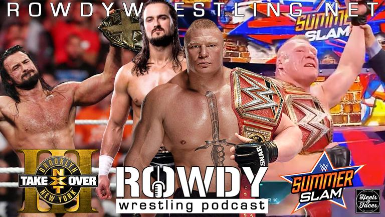 Brock Lesnar Survives! McIntyre Wins! Summer Slam & Takeover Brooklyn 3Reviews
