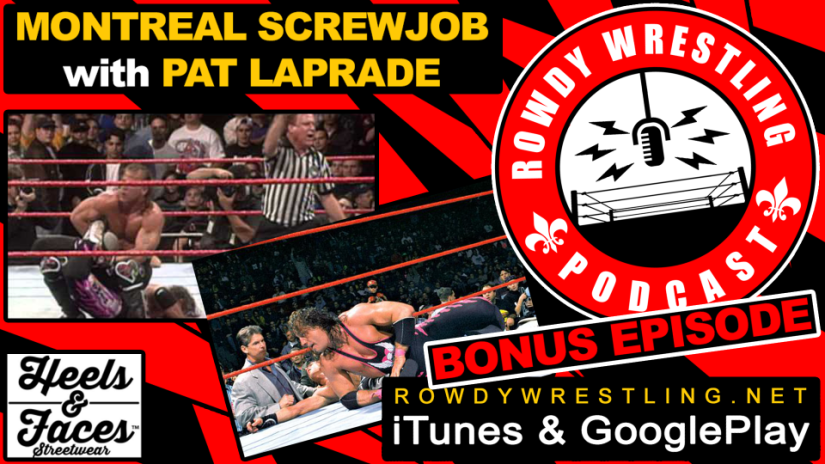 #mtlscrewjob 20 years later with Pat Laprade
